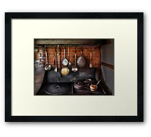 Chef - The gourmet chef  Framed Print