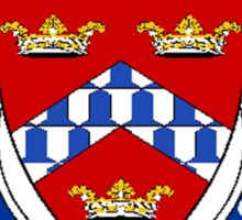 Coat of arms (family crest) for last-name or surname Mayo (England) . Heraldry banner for your name. Sticker