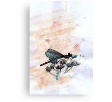 Dragonfly Blue Canvas Print