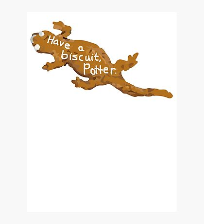 Have a biscuit, Potter Photographic Print
