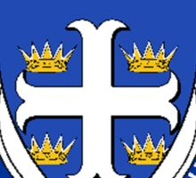 Coat of arms (family crest) for last-name or surname McArthur (Scotland) . Heraldry banner for your name. Sticker