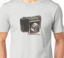 Film: not dead yet... Unisex T-Shirt