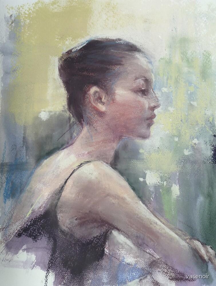Dancer drawing #9 by vasenoir