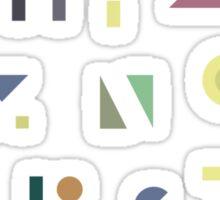 ABC Colorful Sticker