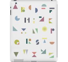 ABC Colorful iPad Case/Skin