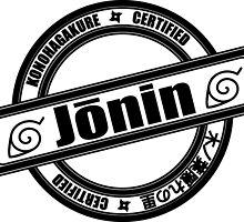 Konoha Jonin Black by Methrade