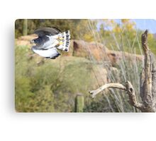 """""""I'm out of here!"""" Metal Print"""