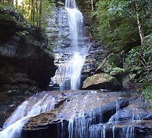Timeless Cascade - Blue Mountains National Park by Henry Inglis