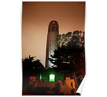 Coit Tower - San Francisco Poster