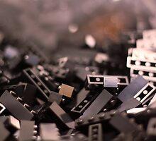 Black Legos  by Sarah Bjorklund