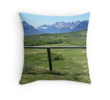 Foothills Ranch Throw Pillow