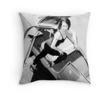 Pin Up by Sweetgrass 4 Throw Pillow