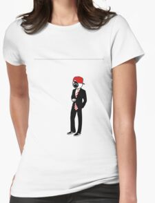 Swagger Eye Womens Fitted T-Shirt