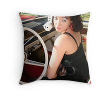 Pin Up by Sweetgrass 7 Throw Pillow