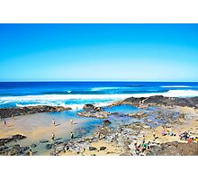Fraser Island - Champagne Pools Photographic Print