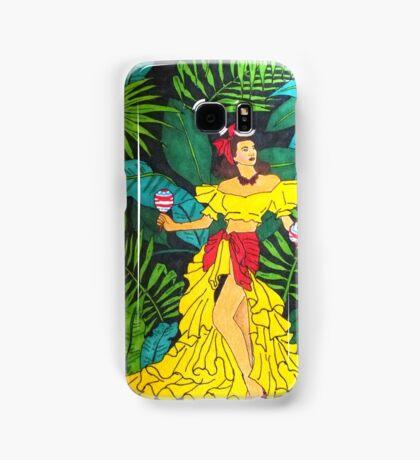 La Selva Caliente.  Samsung Galaxy Case/Skin