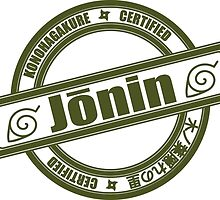 Konoha Jonin Army Green by Methrade
