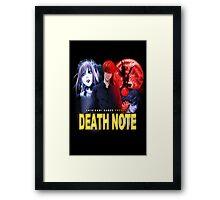 Death Noire Framed Print