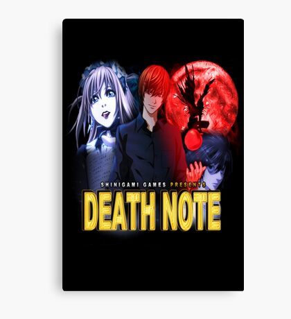 Death Noire Canvas Print