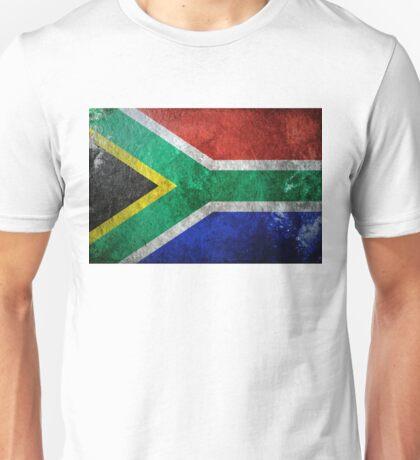 South Africa Grunge Unisex T-Shirt