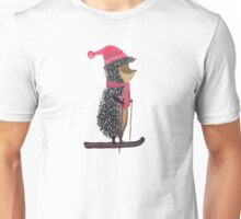 Nursery art - Winter adventure of hedgehog Unisex T-Shirt