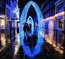 Christmas archways, London by mishainmadrid