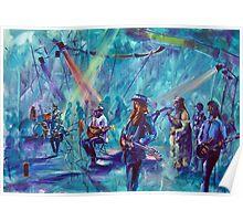 All Stars Jam Goulburn Blues Festival Poster