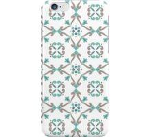 Vector ceramic tiles with seamless pattern iPhone Case/Skin
