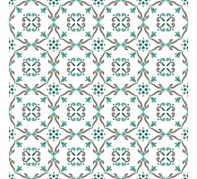 Vector ceramic tiles with seamless pattern Photographic Print