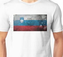 Slovenia Grunge Unisex T-Shirt