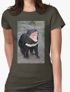 Tasmanian Devil (Gape) Womens Fitted T-Shirt