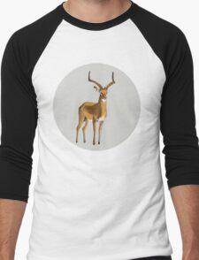 Ilustration art - Money antelope Men's Baseball ¾ T-Shirt