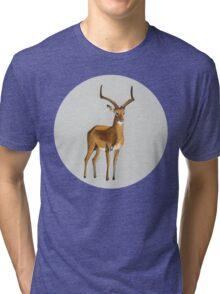 Ilustration art - Money antelope Tri-blend T-Shirt