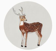 Nursery art - Deer that turns wishes Kids Clothes