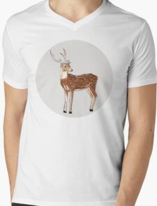 Nursery art - Deer that turns wishes Mens V-Neck T-Shirt