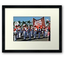 KFC is Back Framed Print