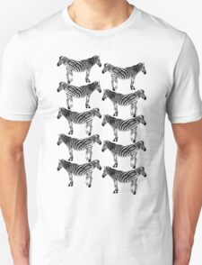 Lots of zebras T-Shirt