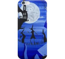 Three Witches (Blue) iPhone Case/Skin