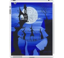 Three Witches (Blue) iPad Case/Skin