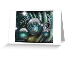 Unrestricted Evolution Greeting Card