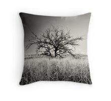 kohala tree B&W Throw Pillow