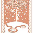 Squirrel & Badgers by Alice in Underland