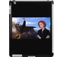 Mulder, no! iPad Case/Skin