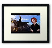 Mulder, no! Framed Print