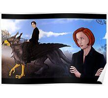 Mulder, no! Poster