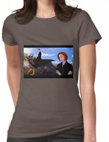 Mulder, no! Womens Fitted T-Shirt
