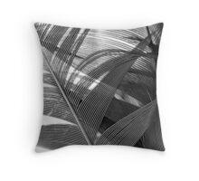 Lyrebird tail feathers Throw Pillow