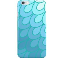 Scales Teal. iPhone Case/Skin