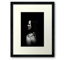Lonely Love Framed Print