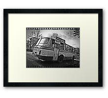 Take a ride Framed Print
